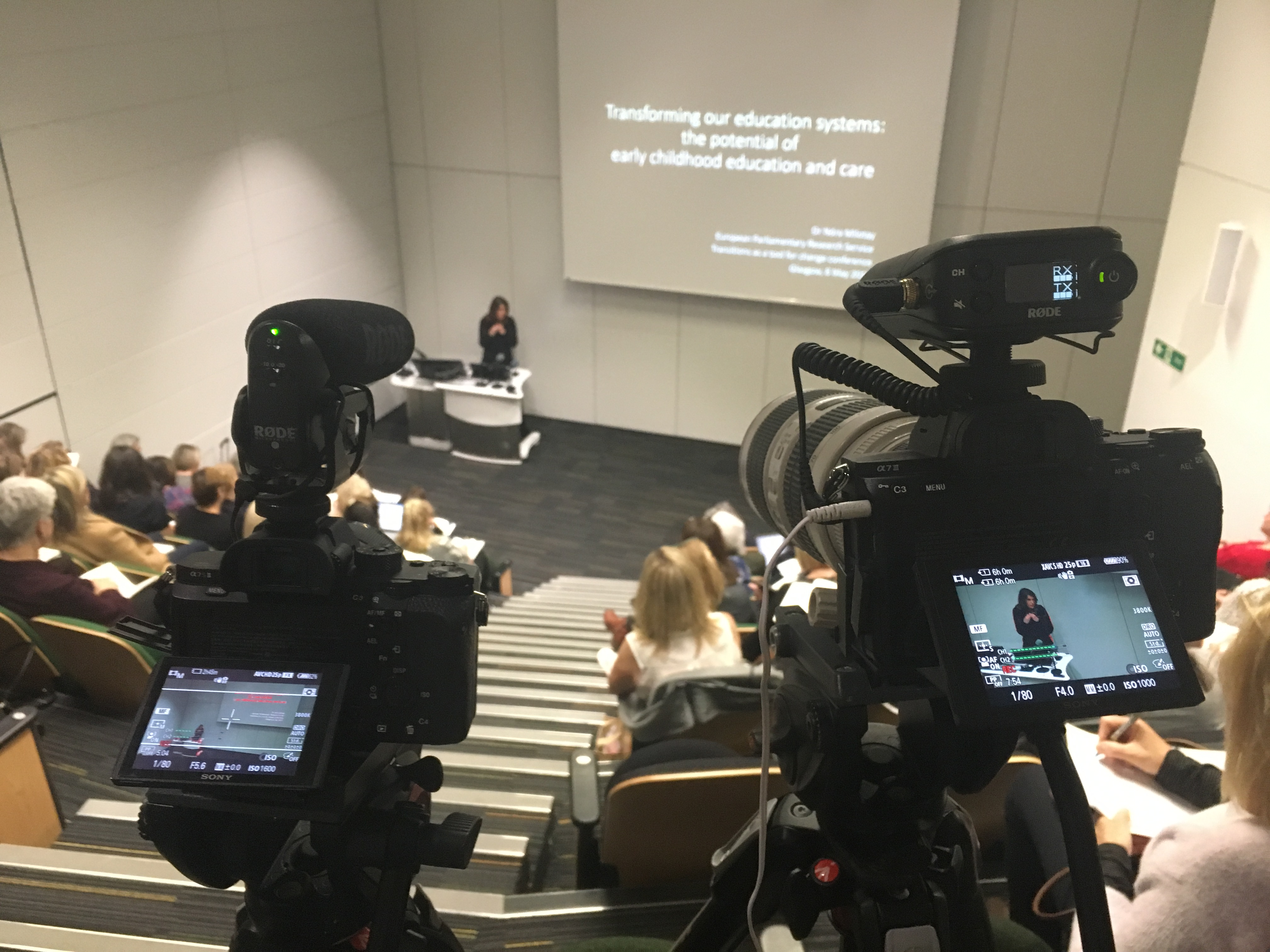 event-filming-transitions-strathclyde-university