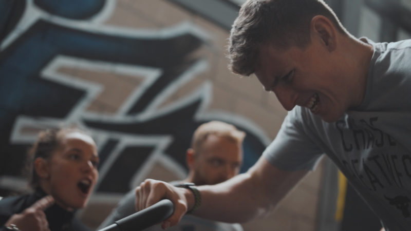 The CaveFit Games // Fitness Competition Filming Edinburgh
