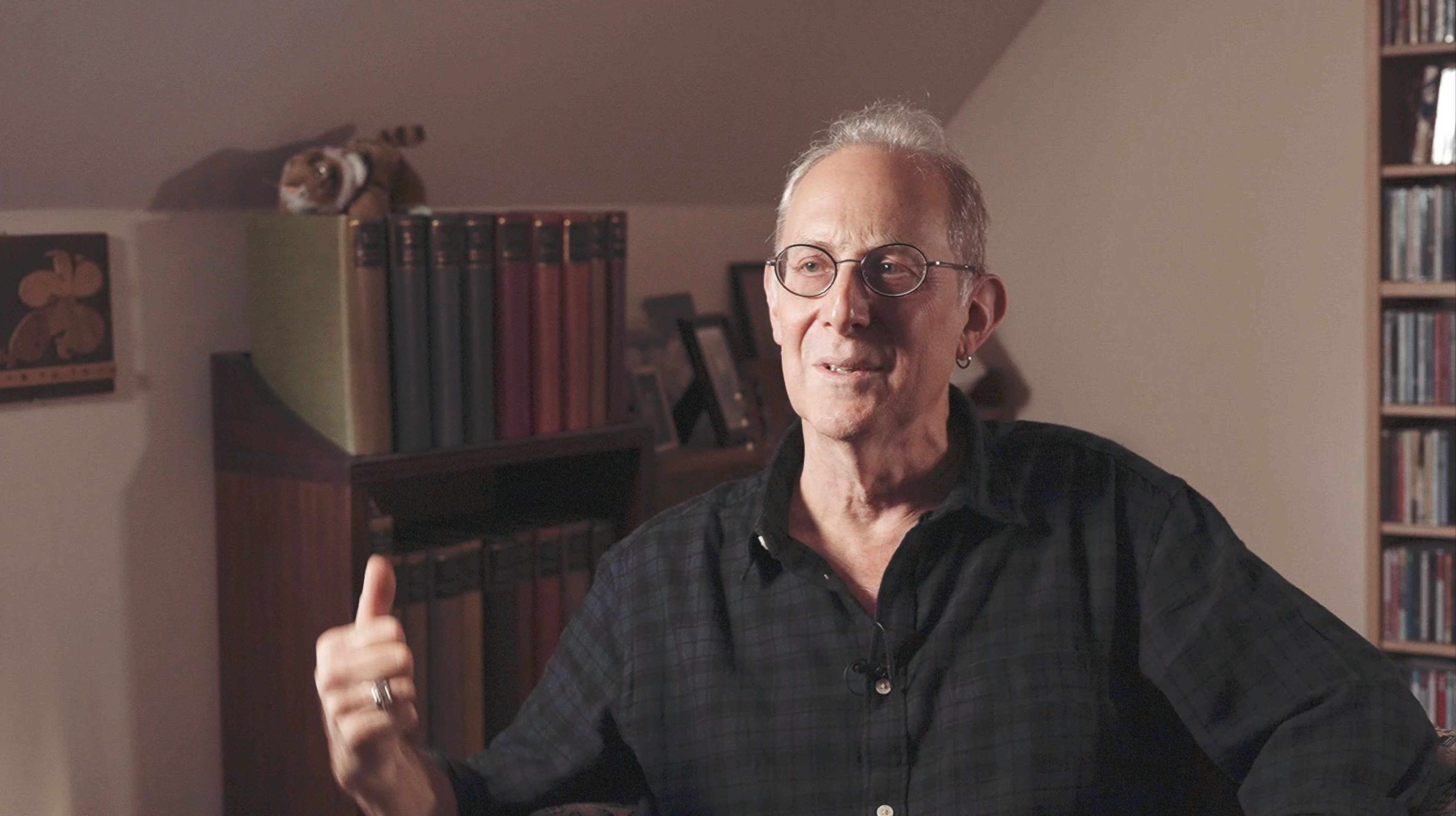 michael alpert filming interviews