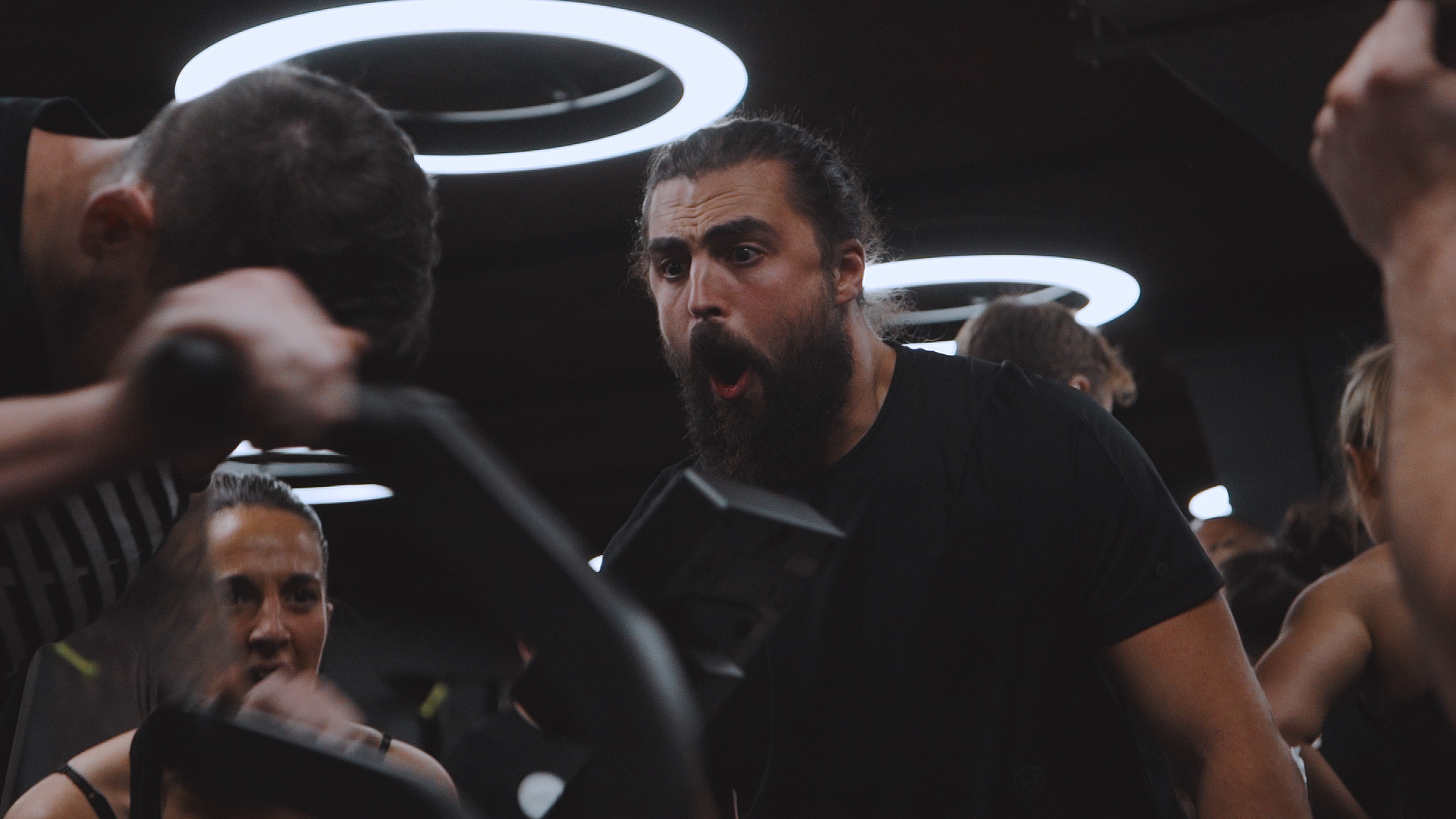 cavefit winter games event video production jason mamoa lookalike