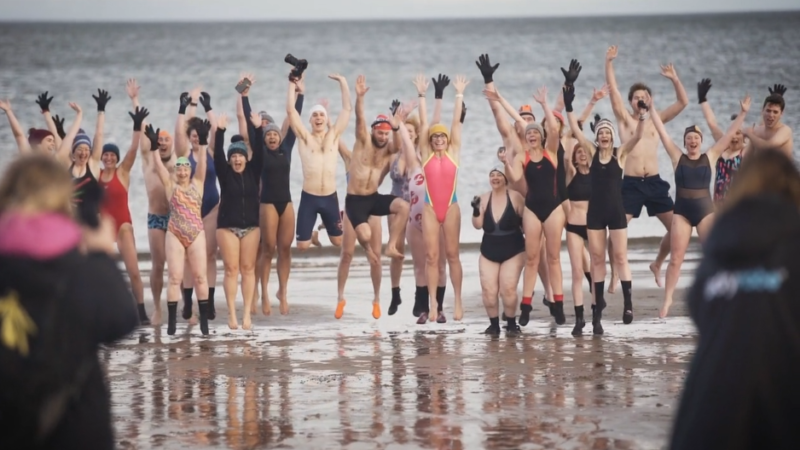 The Last Dip // Gilly McArthur completes fundraising swim challenge